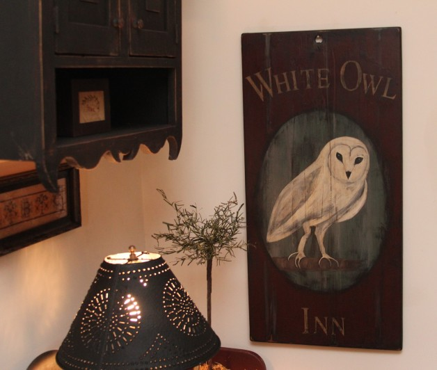 White Owl Inn sign