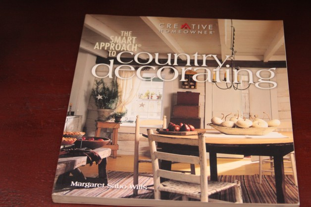 Country decorating book