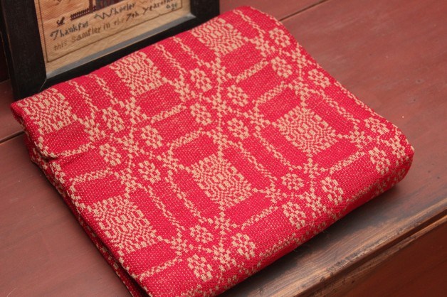 Bayberry table square red