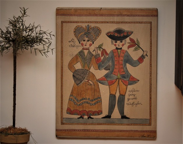 George and Martha Fraktur