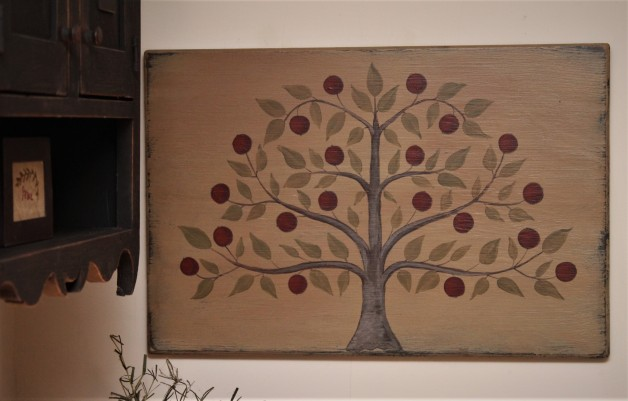 Shaker style tree sign