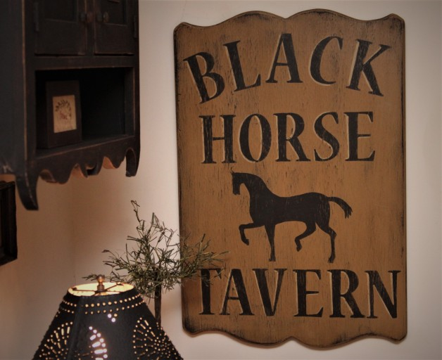 Black Horse Tavern sign