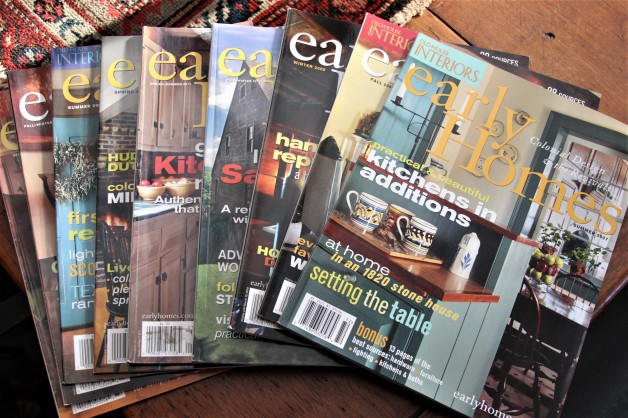 Bundle of Early Home magazines