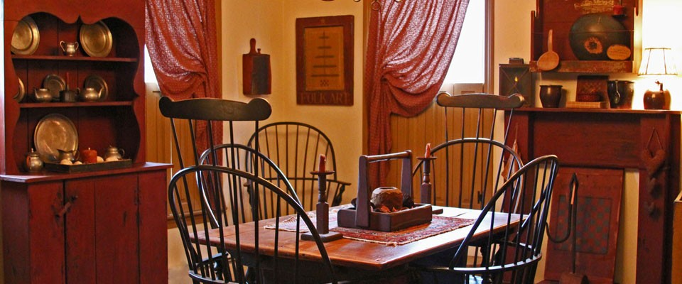 18th Century American Primitive Reproductions - American Country Furniture From American Heritage Shop