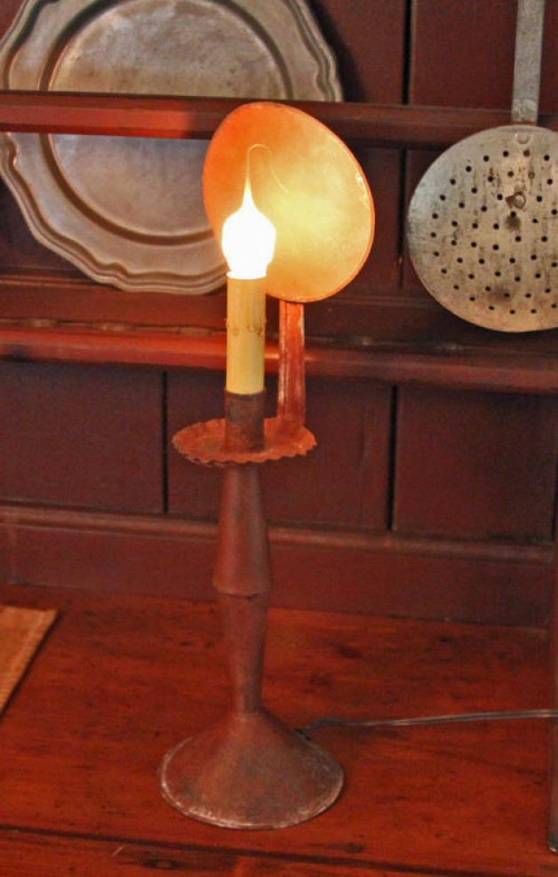 Electric Patriot Candlestick