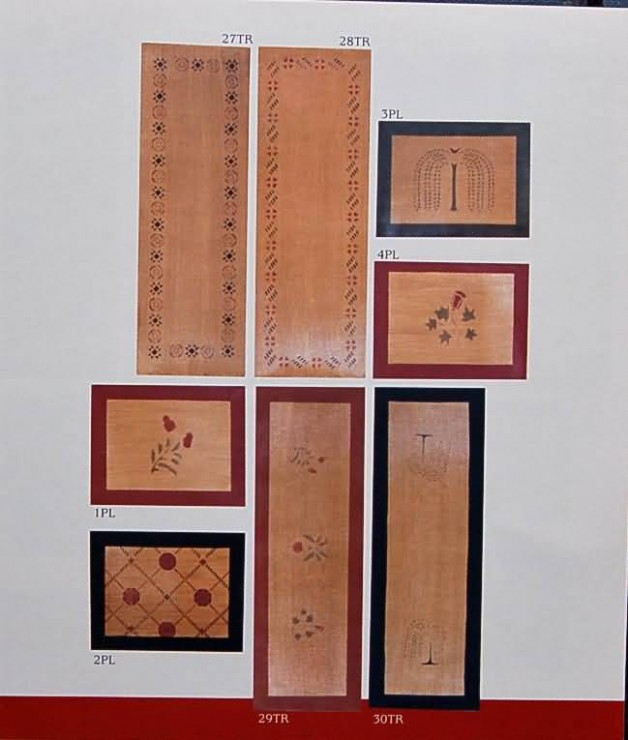 Table runners 12×36