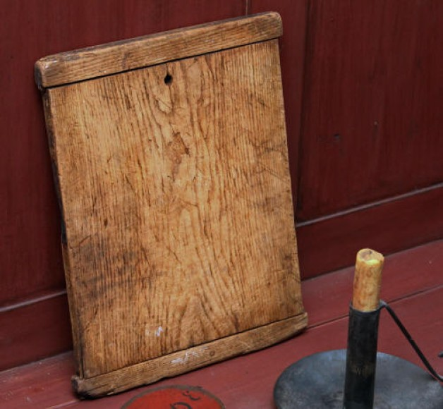 Antique breadboard 14×10