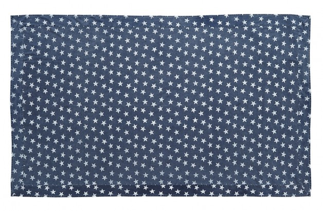 Multi Star navy Table Cloth 60×102