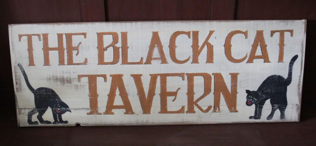 Black Cat Tavern Sign