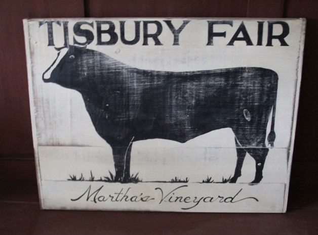 Tisbury Fair Sign