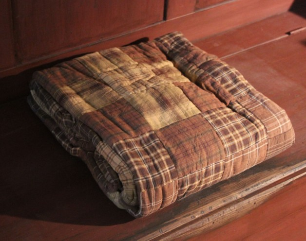 Prescott quilted throw