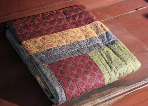 Lewiston quilted throw