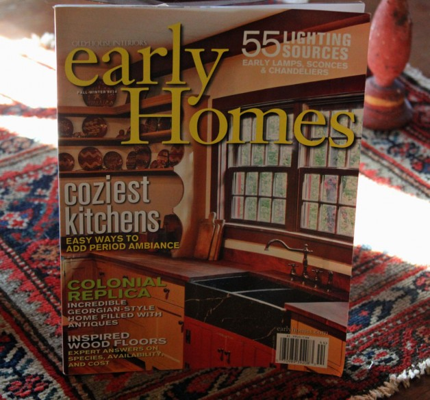 Early Homes Fall/winter 2014 issue