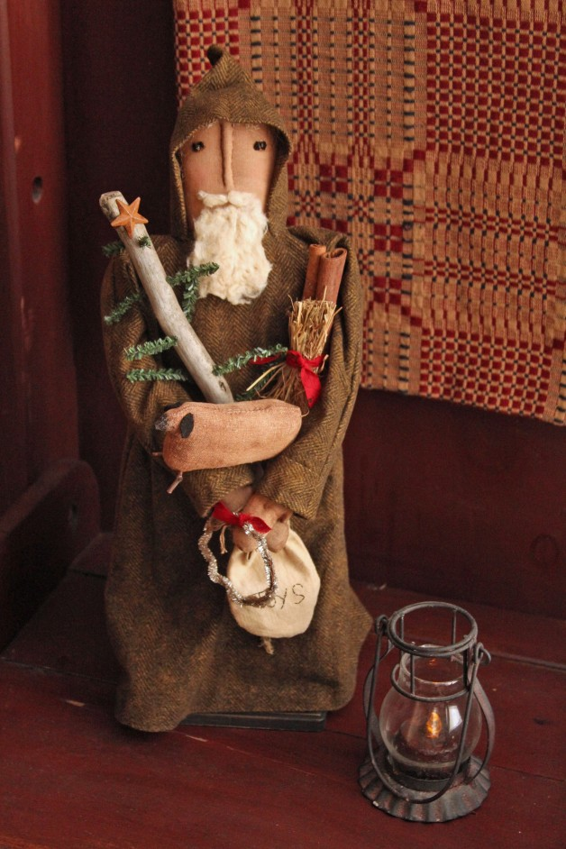 Olde Time Father Christmas  –brown