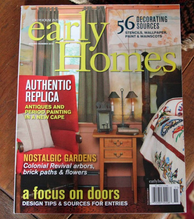 Early Homes Spring/Summer issue