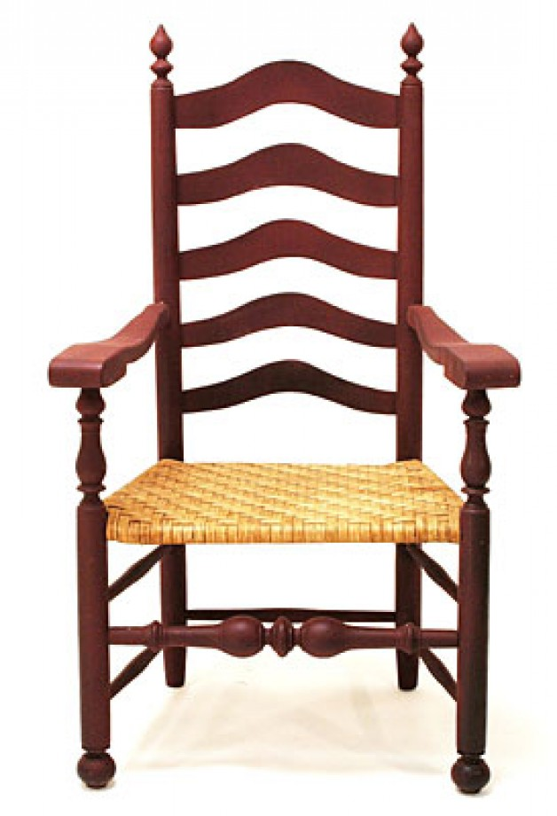 Delaware Valley Ladderback arm chair