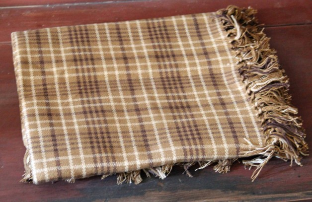 Kellytown Tartan Brown Throw