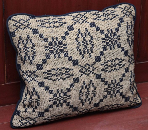 Coverlet Pillow– Navy