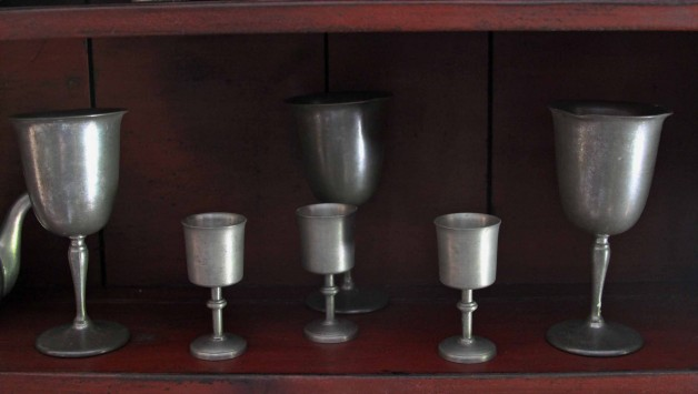 Small Pewter Goblet
