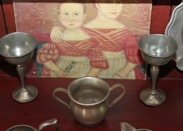 Set of Chalices pewter