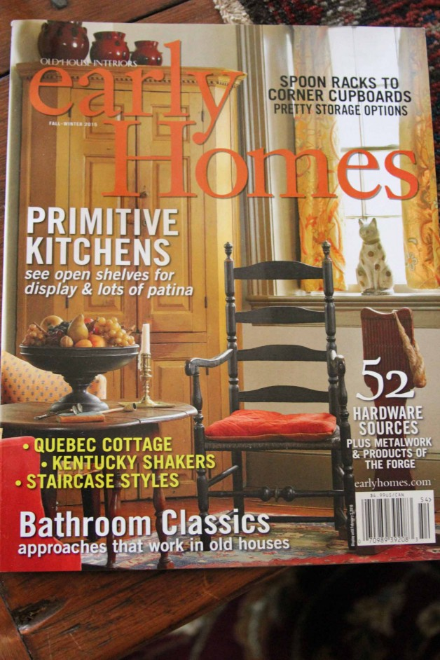 Early Homes winter issue