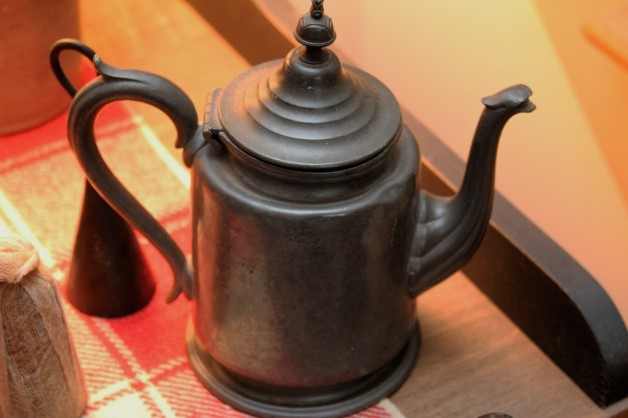 Wonderful pewter teapot