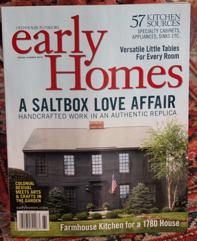 Early Homes magazine Spring/Summer 2016