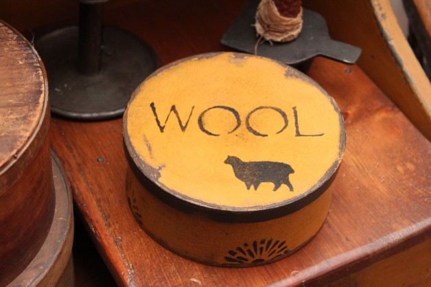 Wool sheep box