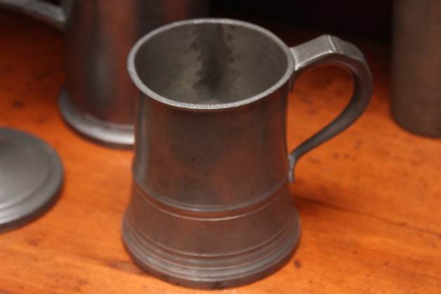 Pewter pint