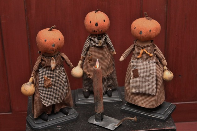 Pumpkin Head Dolls
