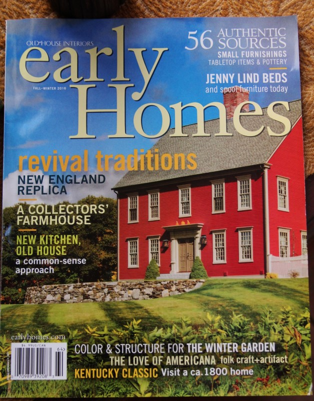 Early Homes Fall/Winter issue 2016
