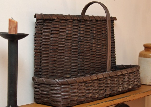 Shelf basket brown