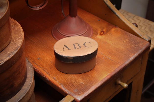 Brown ABC Box