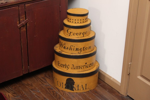 Washington set of five boxes
