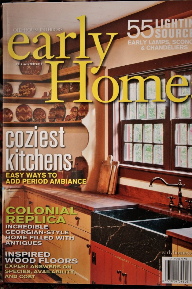 Early Homes magazine  Cozy Kitchens