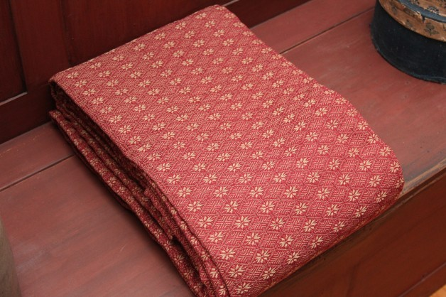 Packsville Rose coverlet