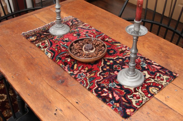 Oriental carpet piece #1