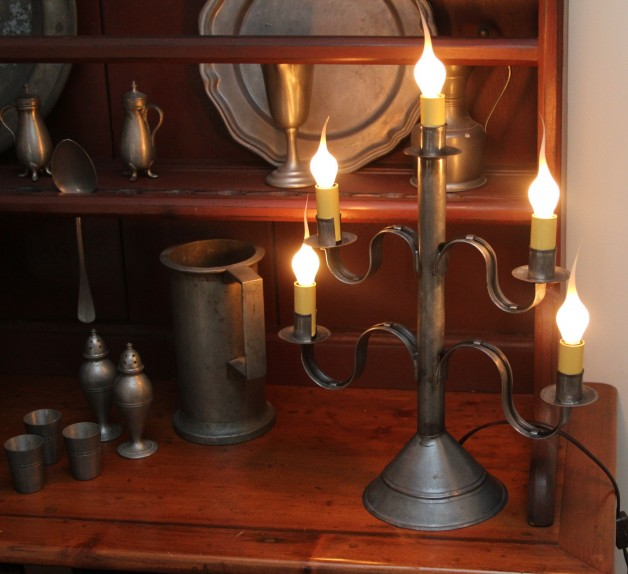 Small Five Arm Candelabra