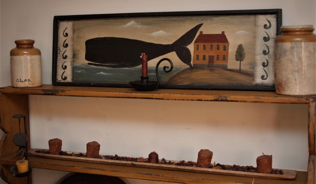 Whale with House